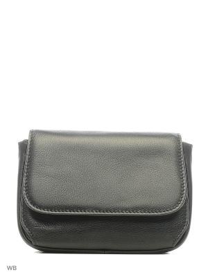 Женская сумка Gianni Conti. Цвет: черный