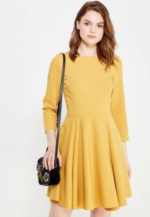 Платье Nife. Цвет: желтый