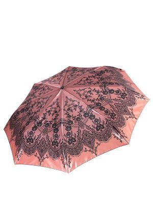 Зонт Fabretti. Цвет: рыжий