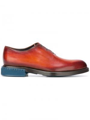 Ботинки-дерби Alessandro Berluti. Цвет: коричневый