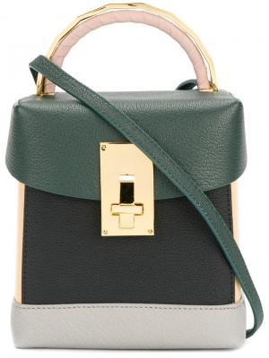 Tote bag The Volon. Цвет: зелёный