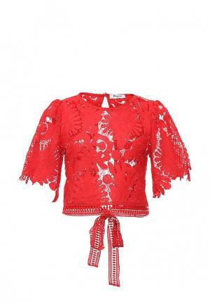 Блуза Paccio. Цвет: красный