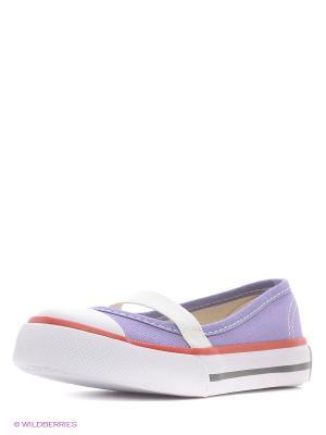 Балетки 4U. Цвет: фиолетовый
