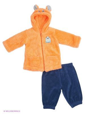 Комплект PELICAN. Цвет: синий, оранжевый