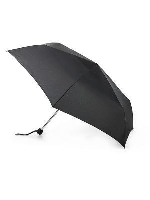 Зонт женский механика Fulton. Цвет: черный
