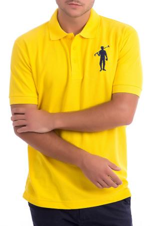 Рубашка-поло POLO CLUB С.H.A.. Цвет: yellow