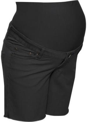 Шорты для беременных (черный) bonprix. Цвет: черный