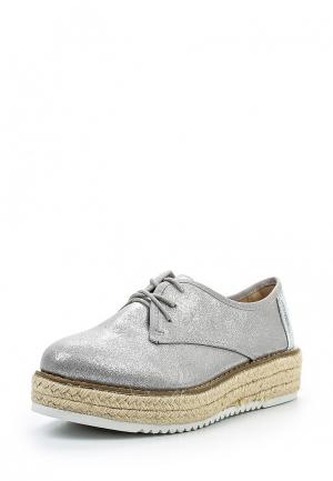 Ботинки Jessy Ross. Цвет: серебряный
