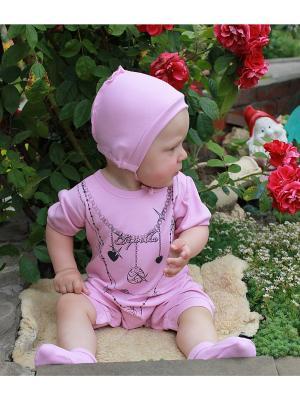 Песочник Tsipochka. Цвет: розовый