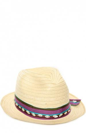 Шляпа OndadeMar. Цвет: бежевый