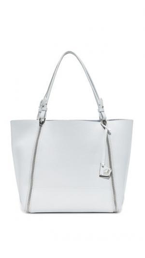 Объемная сумка с короткими ручками и крупными молниями Soho Botkier
