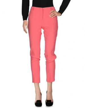 Повседневные брюки G.SEL. Цвет: коралловый