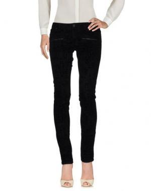 Повседневные брюки MAJE. Цвет: черный