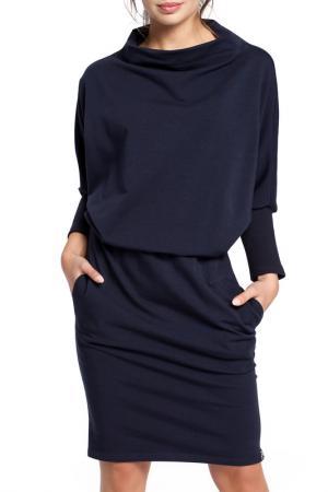 Платье BeWear. Цвет: navy blue