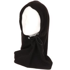 Балаклава женская DC Hoodaclava Black Shoes. Цвет: черный