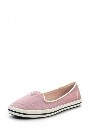 Слипоны Gant. Цвет: розовый