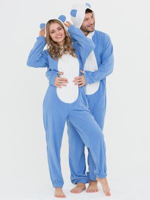 Пижама Футужама. Цвет: голубой