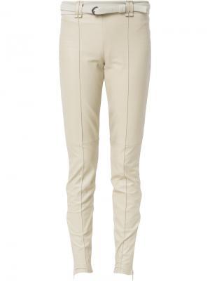 Belted leggings Gloria Coelho. Цвет: телесный