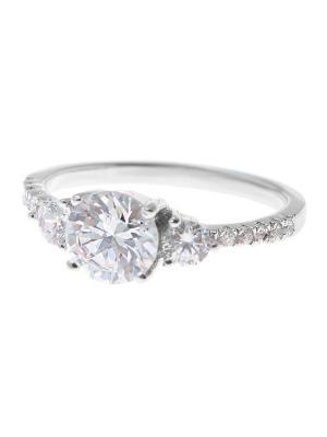 Ювелирное кольцо Happy Garnets. Цвет: серебристый