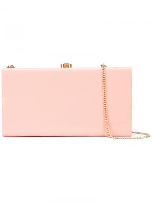 Клатч Chloe Rocio. Цвет: розовый и фиолетовый