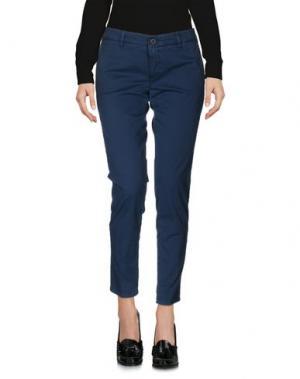 Повседневные брюки INX #THINK COLORED. Цвет: цвет морской волны