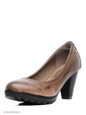 Туфли XTI. Цвет: темно-серый