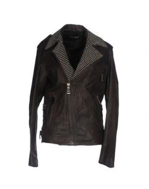Куртка BAD SPIRIT. Цвет: темно-коричневый
