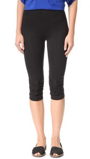 Укороченные брюки до колен Zero + Maria Cornejo. Цвет: голубой