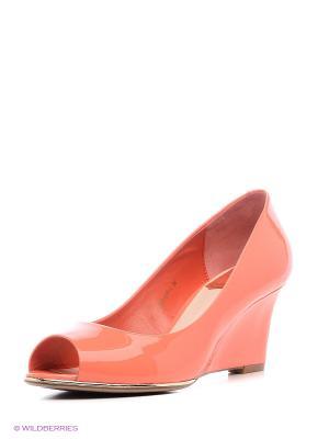Туфли Летние BASCONI. Цвет: оранжевый