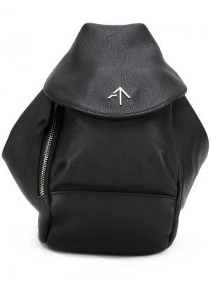 Мини-сумка Fernweh Manu Atelier. Цвет: чёрный