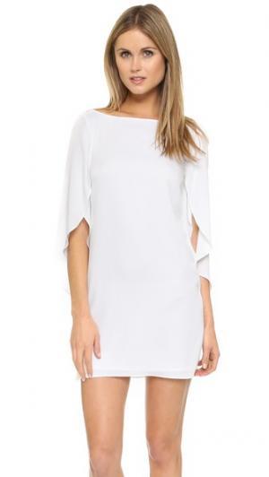 Платье Butterfly Milly. Цвет: белый