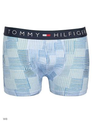 Трусы Tommy Hilfiger. Цвет: голубой