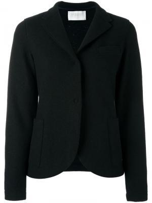 Пиджак с застежкой на две пуговицы Harris Wharf London. Цвет: чёрный