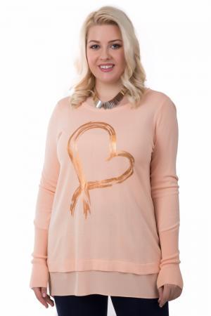 Пуловер Tuzzi. Цвет: оранжевый