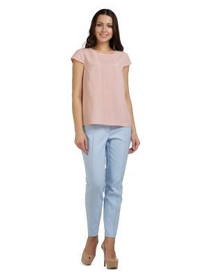 Блузка PROFITO AVANTAGE. Цвет: розовый