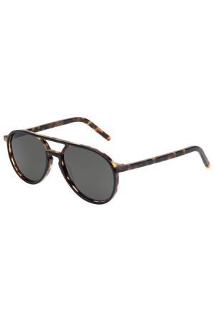 Солнцезащитные очки Tomas Maier. Цвет: 001
