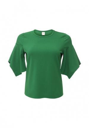 Блуза Just Joan. Цвет: зеленый