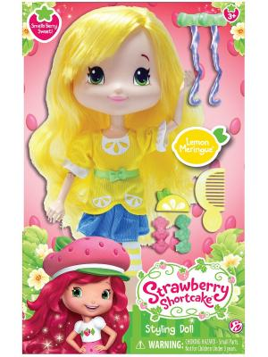 Игрушка Шарлотта Земляничка Кукла Лимона для моделирования причесок, 28 см, кор. The Bridge. Цвет: желтый