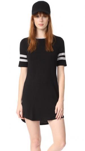 Платье League Z Supply. Цвет: черный/серый меланж