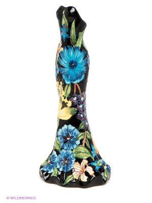 Ваза Платье Pavone. Цвет: черный, зеленый, голубой, бежевый