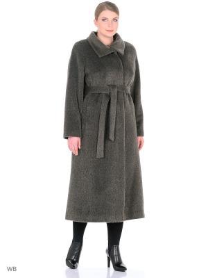 Пальто Style national. Цвет: серый