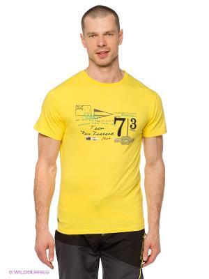 Футболка M Trevor Baumwoll T-Shirt yellow Northland Professional. Цвет: желтый