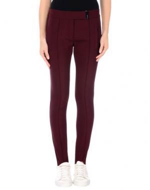 Повседневные брюки KATIA G.. Цвет: баклажанный