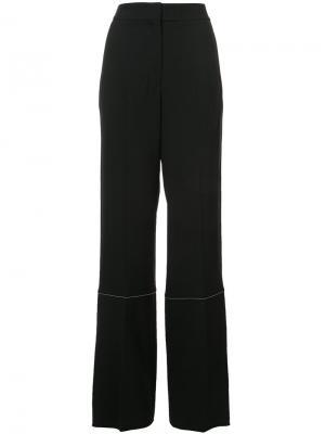 Широкие брюки Proenza Schouler. Цвет: чёрный