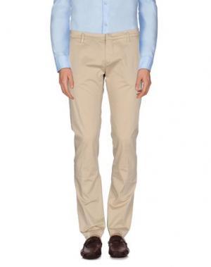 Повседневные брюки MASSIMO BRUNELLI. Цвет: бежевый