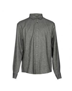 Pубашка CLUB MONACO. Цвет: стальной серый