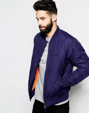 Addict Куртка-пилот MPC. Цвет: темно-синий