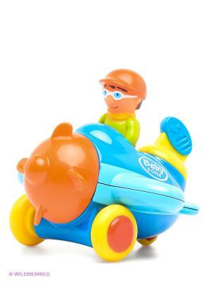 Игрушка Машинка с водителем Globo. Цвет: синий, желтый, оранжевый