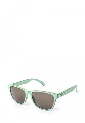Очки солнцезащитные Roxy. Цвет: зеленый