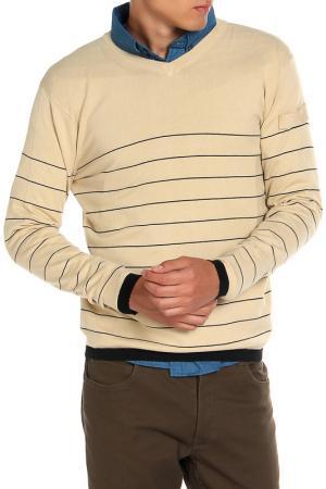 Джемпер HARTWEAR. Цвет: коричневый